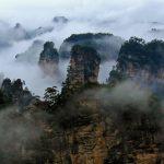 张家界:山的幻想